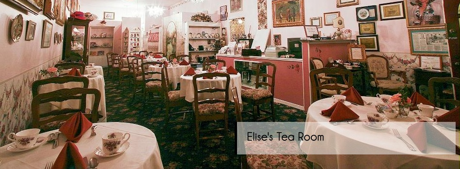 Afternoon Tea At Elise S Room